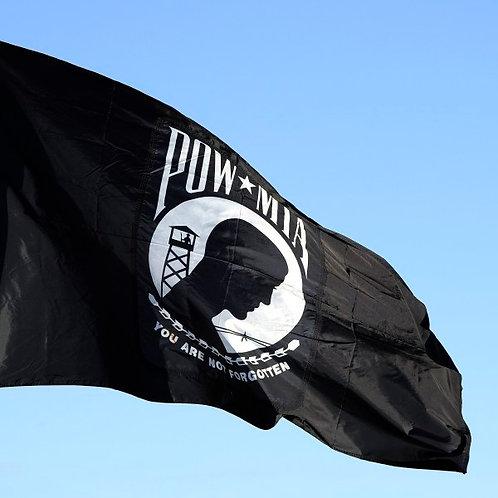 POW-MIA Flag Single-Sided