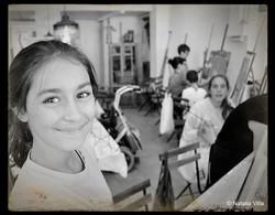 Carlota en los Talleres de Verano 2013