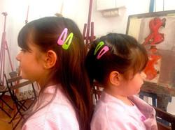 Aroa y Naia Solana, mis niñas preciosas!!