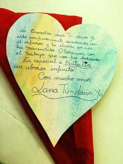 Gracias a Salomé y a la cooperativa _Lana tú- Lana yo_.jpg Por este precioso regalo.jpg Natalia Vill
