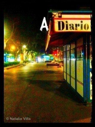 de regreso a casa... A _Diario_, esta imagen va dedicada a Verónica Martín Jiménez