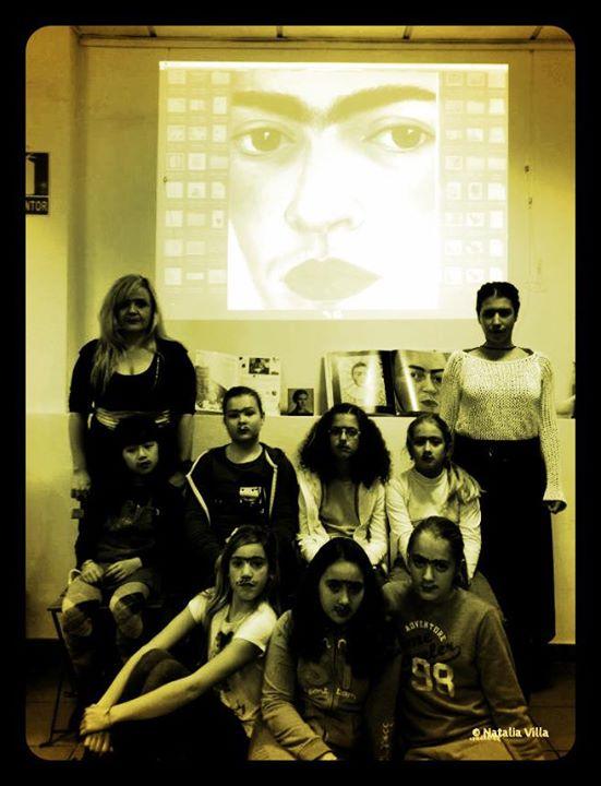 Celebramos el día de Frida Khalo en olorAMAR.jpg Vimos rasgos de su biografía, hablamos de ella y de