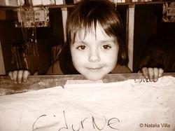 Nuestra preciosa pequeña. Edurne