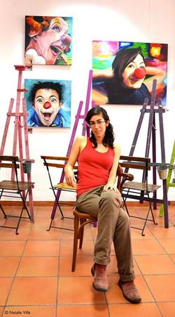 Alumna en prácticas de la ULL. 4º curso de Bellas Artes. Laura Perera