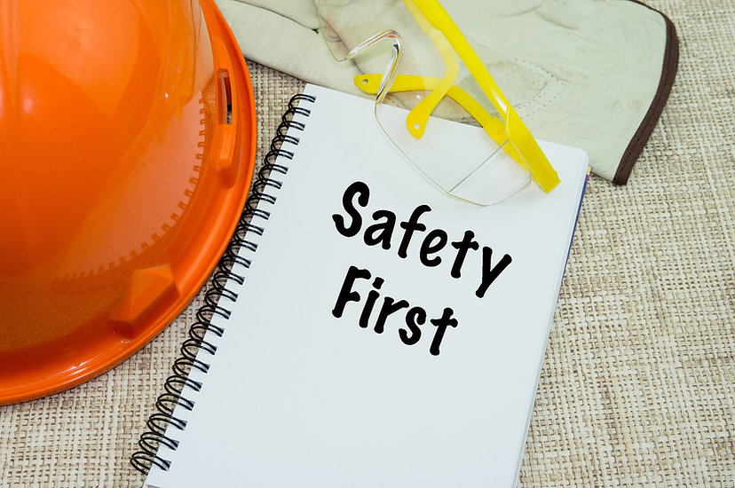 Safety First and Health at Workplace Con