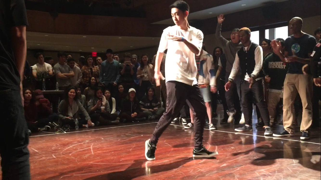"Ferdi Yu at ""Breaks U"" Breakdance Competition"