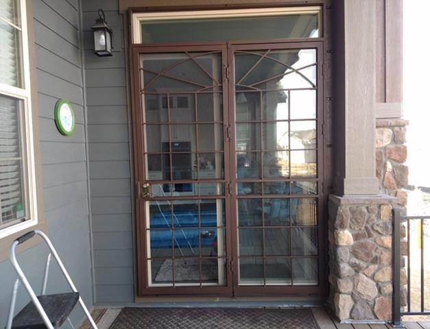Double Sunrise Door