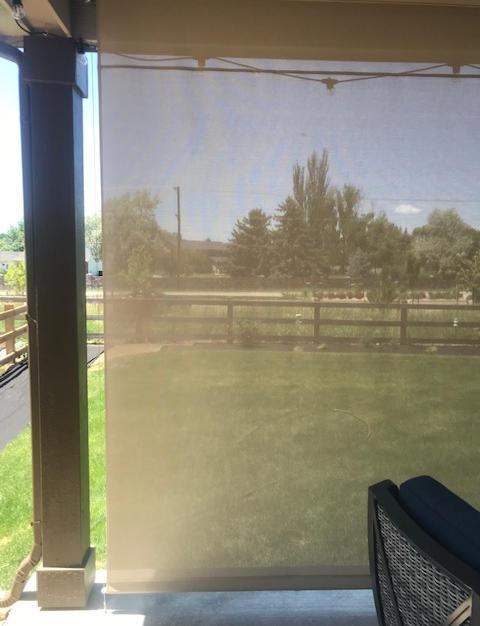 Patio Sun and Wind Screen