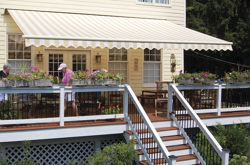 Awning with Ocean Wave Valence