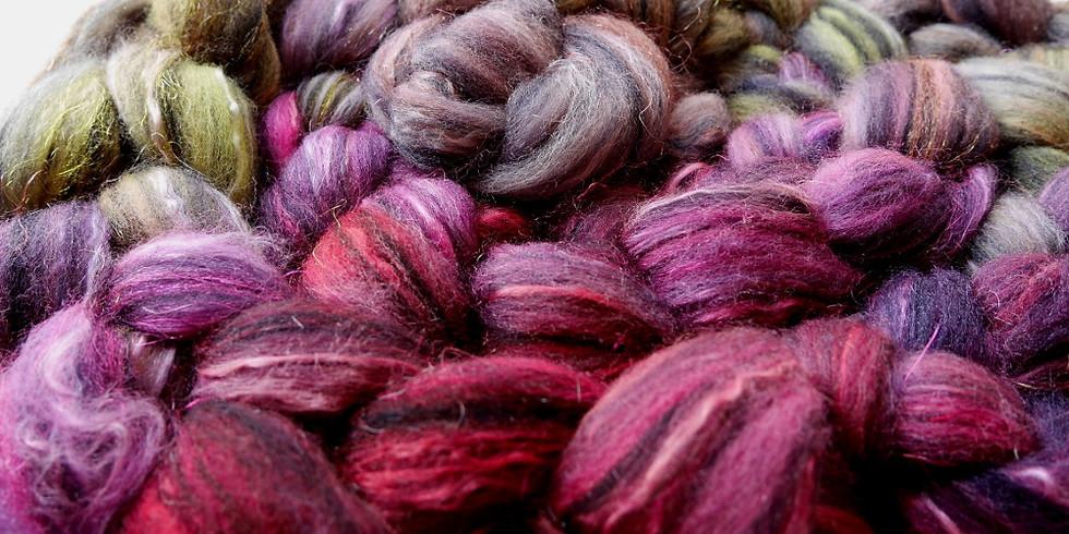 Initiation au filage de la laine