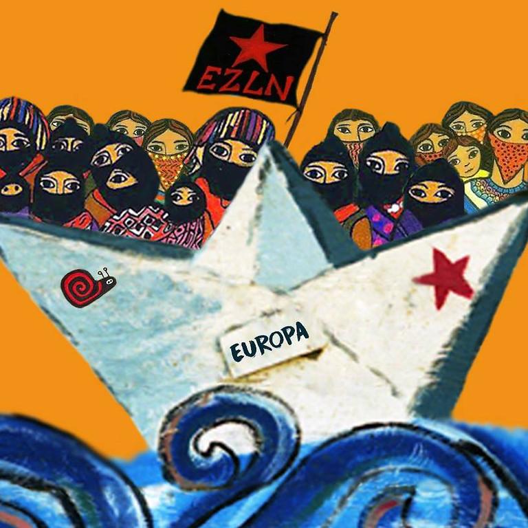 Les Zapatistes au petit théâtre de la Grande Vie