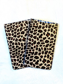 Leopard Yardage Book Holder