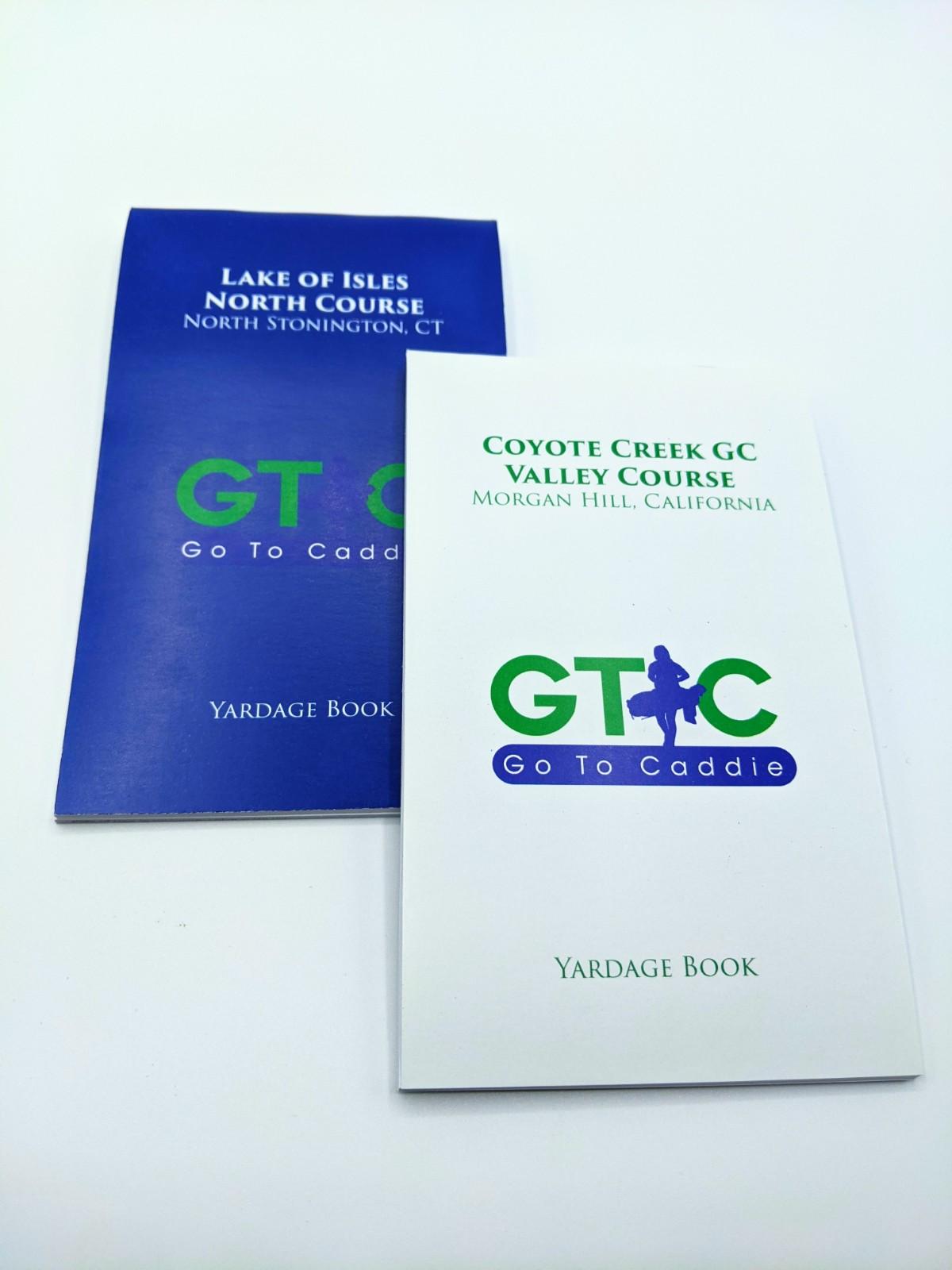 Tournament Yardage Books