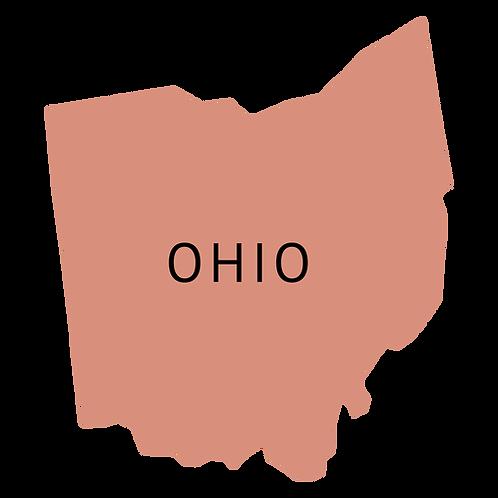 Ohio 3D knihy