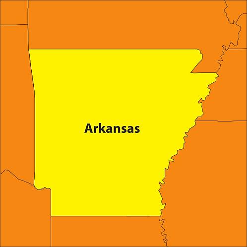 Arkansas 3D Books