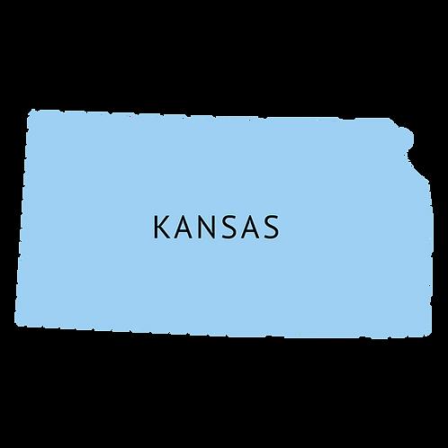 Kansas 3D knihy