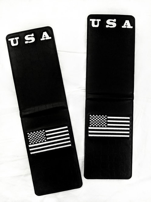 USA Embroidered Holders