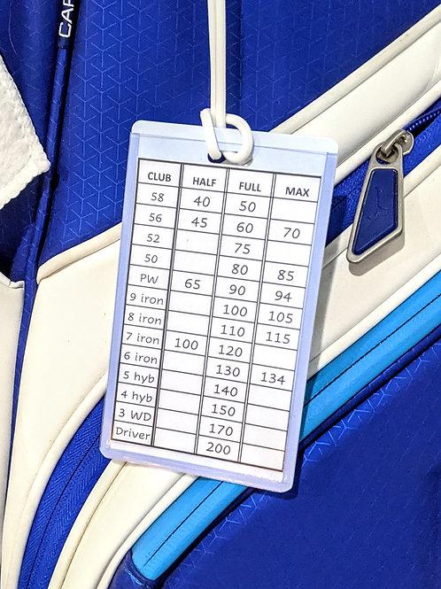 GTC Yardage Bag Tag