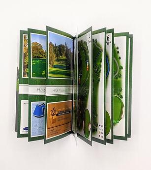 Golf Course Yardage Book