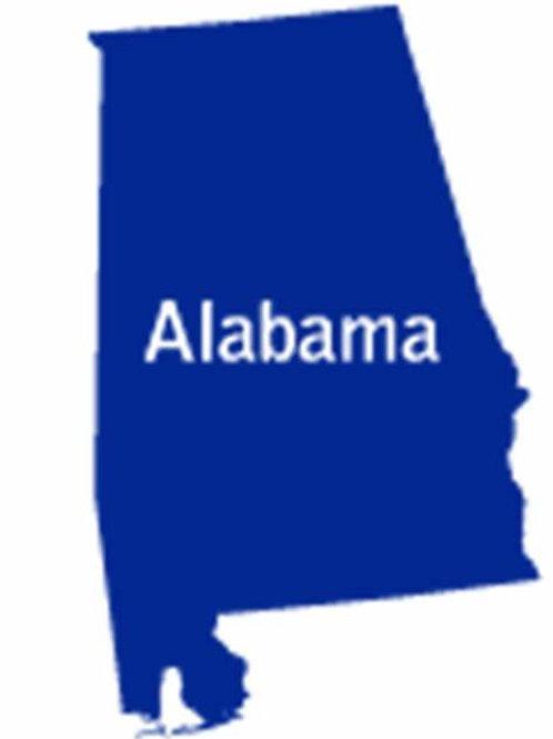Alabama 3D Books