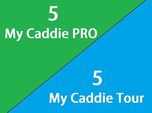 My Caddie Pro/My Caddie Tour Mixed 10 Pack