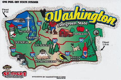 Washington State 3D Books