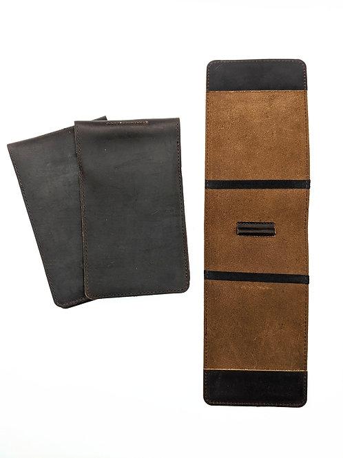 Genuine Leather Yardage Book Holder