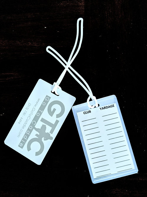 GTC Yardage Bag Tag