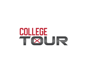logo TOUR X - red - NO ball - clear back