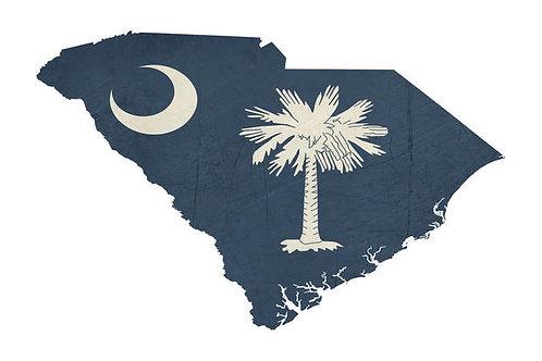Jižní Karolína 3D knihy