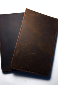 Genuine Leather Yardage Book Holder