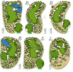 Golf Course Guides