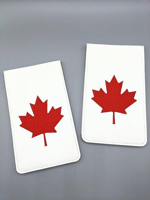 Maple Leaf Embroidered