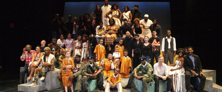 Cast and crew of The Tempest