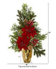 Gold Vase with Poinsettia.jpg