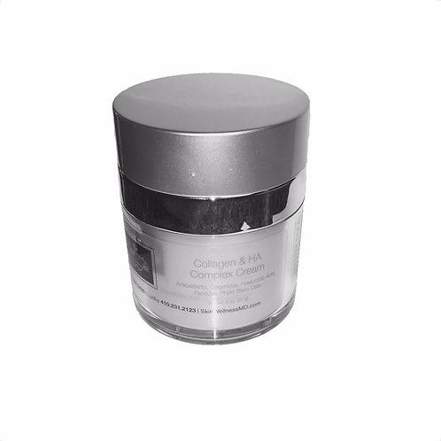SkinWellnessMD® Collagen & HA Complex Cream