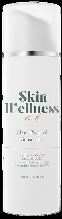 Sheer Physical Sunscreen SPF 50+