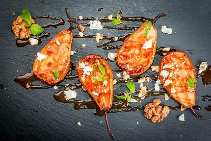 Summer Salad - Grilled Pears, Balsamic V