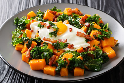 Yam with Kale, Bacon, and Fried Egg.jpg