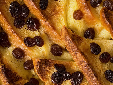 British Bread & Butter Pudding