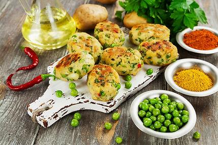 Aloo-Matar Tikki (Potato-Peas Patties).j