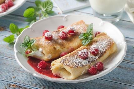Cheese Blintzes with Raspberries.jpg