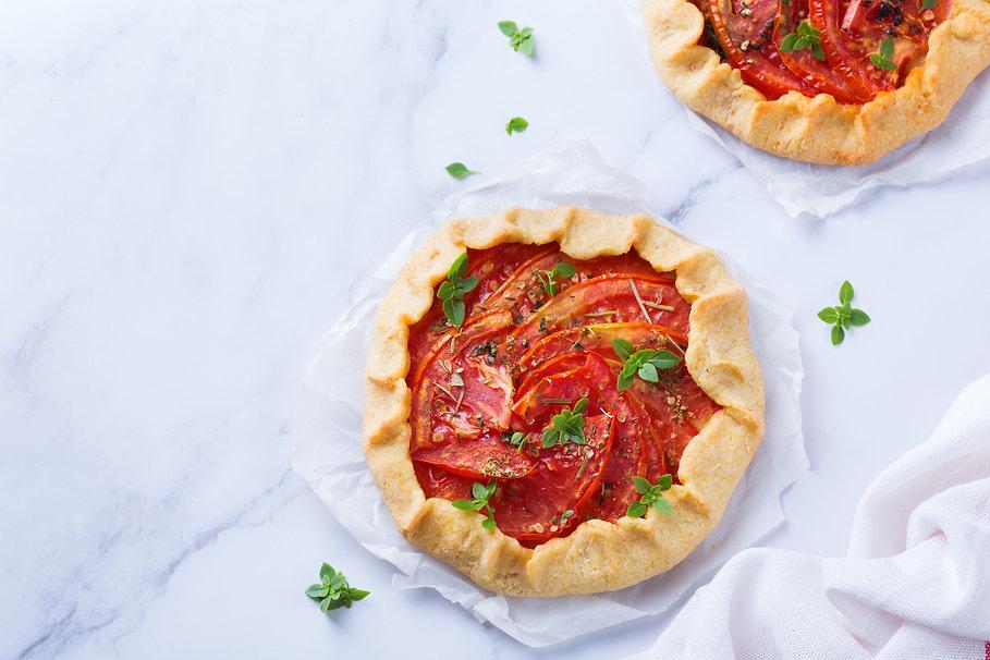 Tomato Galette Tart
