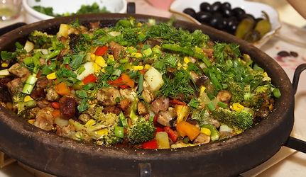 Bulgarian National Dish of Meat & Vegeta