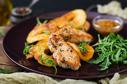 Chicken with Apples