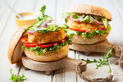 Crab & Fish Burger