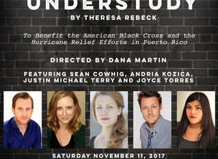 """The Spare Change Series presents """"The Understudy"""" to Benefit Hurricane Relief in Puerto Ri"""