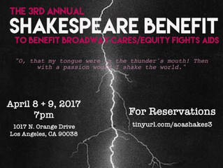 The 3rd Annual Shakespeare Benefit for BC/EFA