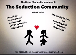 """The Spare Change Series presents """"The Seduction Community"""" to benefit Nepal"""