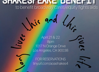 The 4th Annual Shakespeare Benefit for BC/EFA
